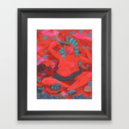 Sauce Lord Framed Art Print