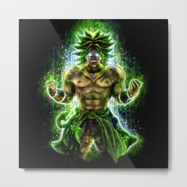 The Legendary Warrior Metal Print