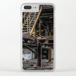 Last Chance Stairway Clear iPhone Case