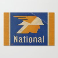 the national Canvas Prints featuring National Logo by Bruce Stanfield