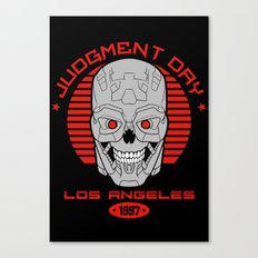 Judgment Day - Los Angeles Canvas Print