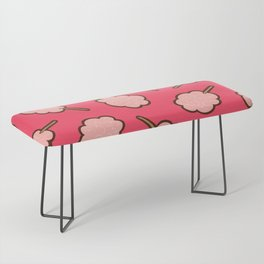 Cotton Candy Pattern Bench