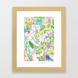 Somewhere In Between Framed Art Print