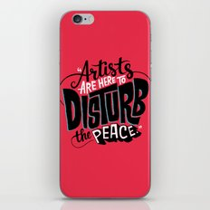Disturb The Peace iPhone & iPod Skin