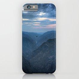 Black canyon iPhone Case