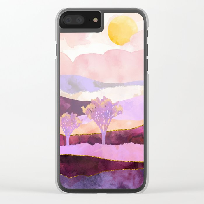 High Noon Clear iPhone Case