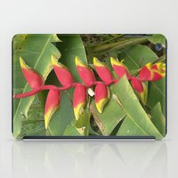 """indonesia iPad Cases featuring Flower """"Heliconia"""" (Bali, Indonesia) by Christian Haberäcker - acryl abstract"""