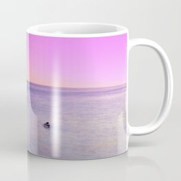 Saturated Beach at sunset Coffee Mug
