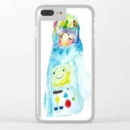 BEMO-jin Clear iPhone Case