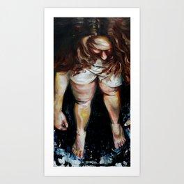 Lauren Nemchik - Bruised Betty  Art Print