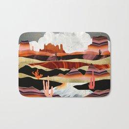 Coral Desert Lake Bath Mat