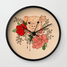 Lucky You Wall Clock
