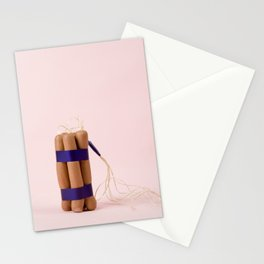 Dynamite Sausages Stationery Cards