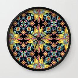 Sunshine Arabesque Wall Clock