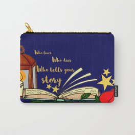 Who Tells Your Story Carry-All Pouch