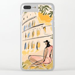 When in Rome Clear iPhone Case