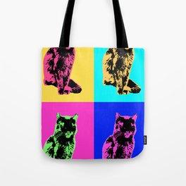 Cat Pop Tote Bag