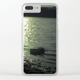Symbols of the Past Clear iPhone Case