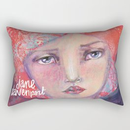 Folie by Jane Davenport ( with logo) Rectangular Pillow