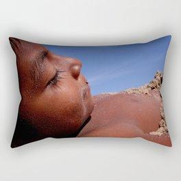 Wittos (Blue) Little Indian Sand Boy  Rectangular Pillow