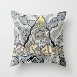 Supersonic Spaceships Throw Pillow