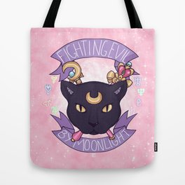 Fighting Evil By Moonlight Tote Bag