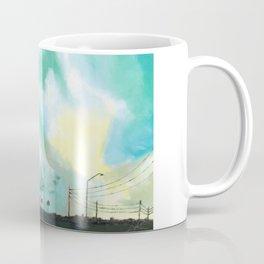 Tampa Inspired Blue Sky Coffee Mug