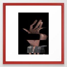 Hands On #5 (Series) Framed Art Print