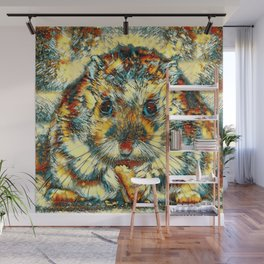AnimalArt_Hamster_20170901_by_JAMColorsSpecial Wall Mural