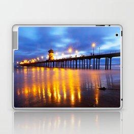 HB Pier Lights Laptop & iPad Skin