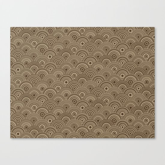 Orbis (Brown) Canvas Print