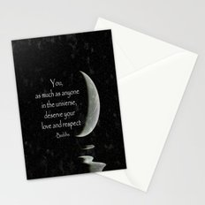 You, as much as anyone... Stationery Cards