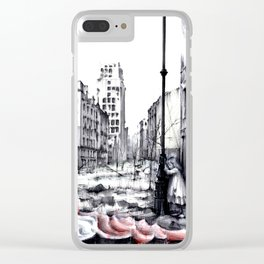 THE DEATH OF WARSAW Clear iPhone Case