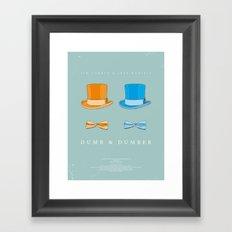 Dress The Part - Dumb & Dumber Framed Art Print