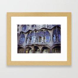 Barcelona Framed Art Print