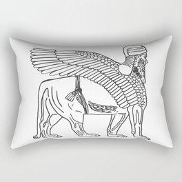 The Lamassu of Nineveh Rectangular Pillow