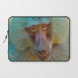 Baboon Charm Laptop Sleeve