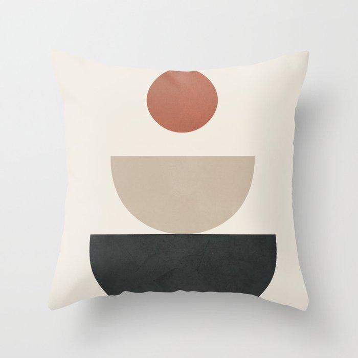 Geometric Modern Art 30 Throw Pillow