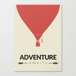 Your Adventure Awaits Canvas Print