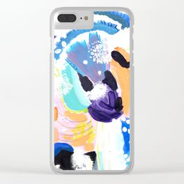 Abstract Happyness Clear iPhone Case