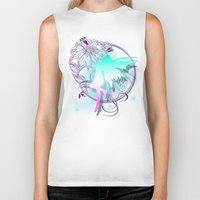 fairy Biker Tanks featuring Fairy by Augustinet