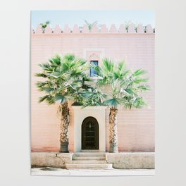 "Travel photography print ""Magical Marrakech"" photo art made in Morocco. Pastel colored. Poster"