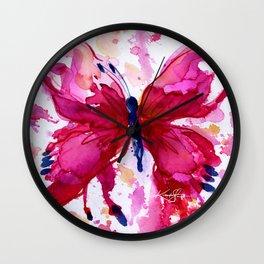 Butterfly Joy No. 7 Wall Clock