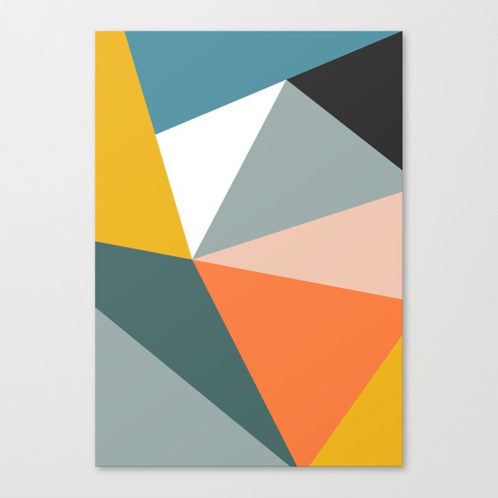 Modern Geometric 33 Leinwanddruck