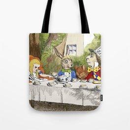 """Lewis Carroll, """" Alice's Adventures in Wonderland """" Tote Bag"""