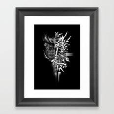 OWLGRAFIK Framed Art Print
