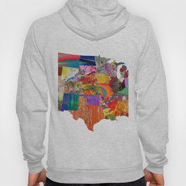 USA Map Hoody