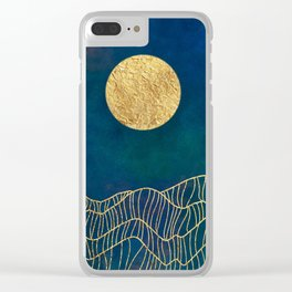 golden glow Clear iPhone Case