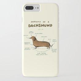 Anatomy of a Dachshund iPhone Case