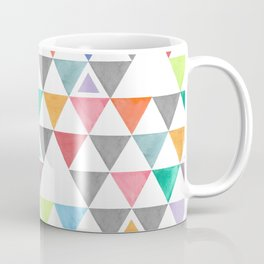Rainbow Water Color Triangles;  For this child I have prayed Coffee Mug